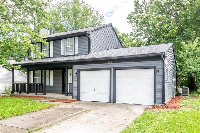 5847 E Liberty Creek Drive, Indianapolis, IN 46254 (MLS #21729086) :: Anthony Robinson & AMR Real Estate Group LLC