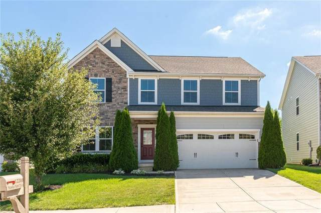 12268 Hawks Nest Drive, Fishers, IN 46037 (MLS #21729096) :: Mike Price Realty Team - RE/MAX Centerstone