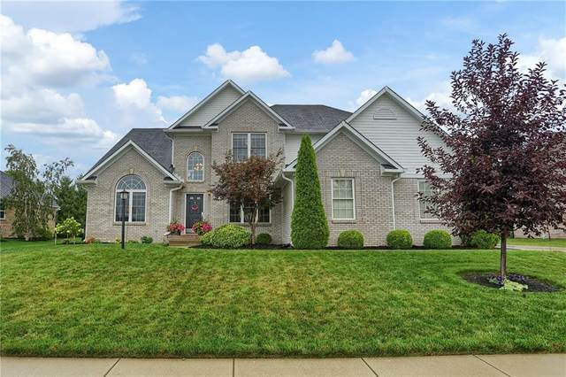 1817 Saratoga Drive, Greenwood, IN 46143 (MLS #21729110) :: Mike Price Realty Team - RE/MAX Centerstone