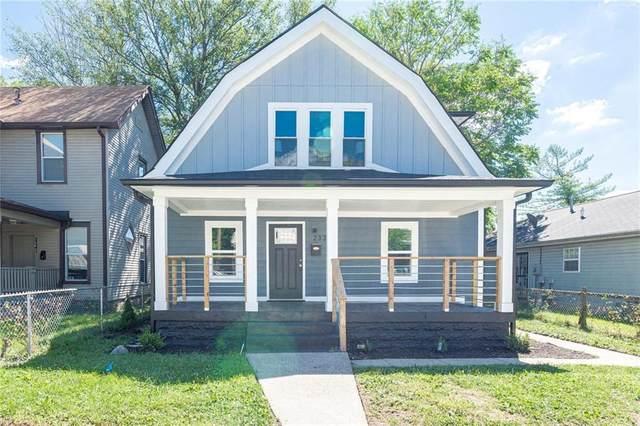 2337 N Kenwood Avenue, Indianapolis, IN 46208 (MLS #21729262) :: Heard Real Estate Team   eXp Realty, LLC