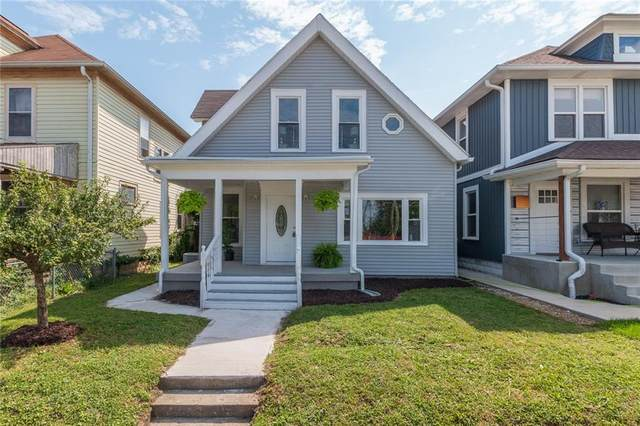 1339 S East Street, Indianapolis, IN 46225 (MLS #21729287) :: The Indy Property Source