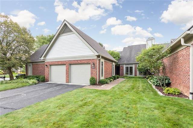 9376 Spring Forest Drive, Indianapolis, IN 46260 (MLS #21729315) :: David Brenton's Team