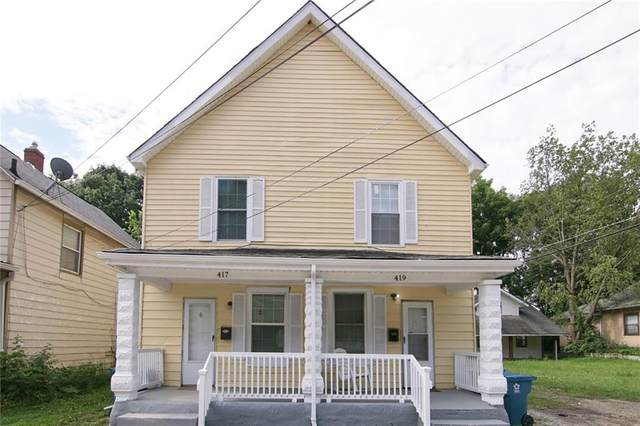 417-419 W 39TH Street, Indianapolis, IN 46208 (MLS #21729396) :: Heard Real Estate Team   eXp Realty, LLC