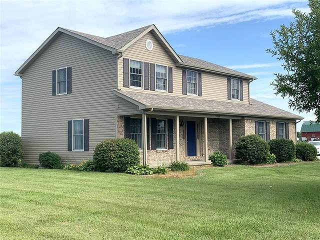 9858 S 250 E, Markleville, IN 46056 (MLS #21729488) :: Mike Price Realty Team - RE/MAX Centerstone