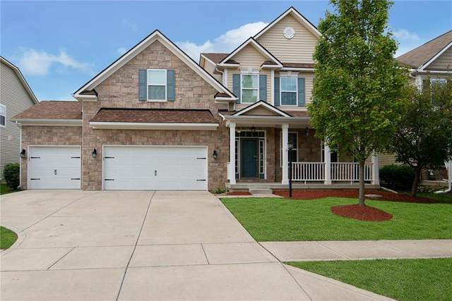 6221 Strathaven Road, Noblesville, IN 46062 (MLS #21729504) :: Mike Price Realty Team - RE/MAX Centerstone