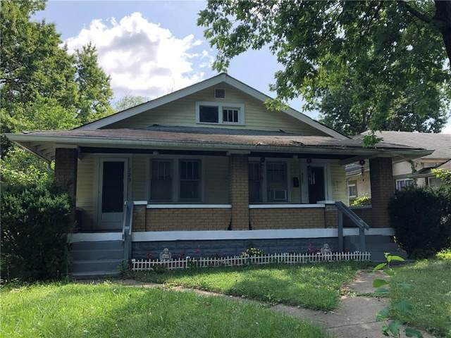 721 N Denny Street, Indianapolis, IN 46201 (MLS #21729590) :: Mike Price Realty Team - RE/MAX Centerstone