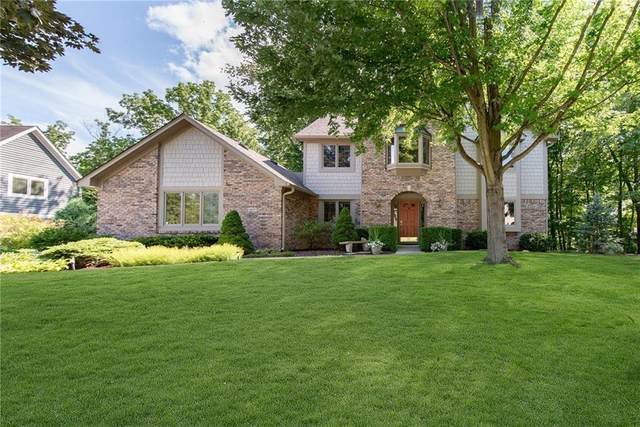 4677 Bayberry Lane, Zionsville, IN 46077 (MLS #21729672) :: Mike Price Realty Team - RE/MAX Centerstone