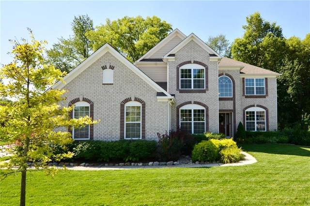 3879 Harrison Crossing Lane, Greenwood, IN 46142 (MLS #21729692) :: Mike Price Realty Team - RE/MAX Centerstone