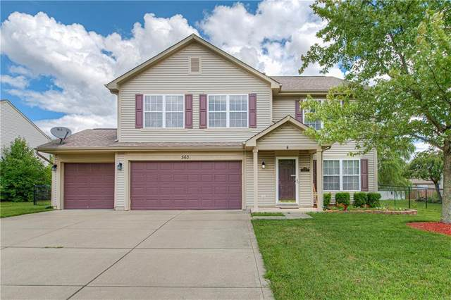 563 Prentiss Way, Avon, IN 46123 (MLS #21729822) :: Mike Price Realty Team - RE/MAX Centerstone
