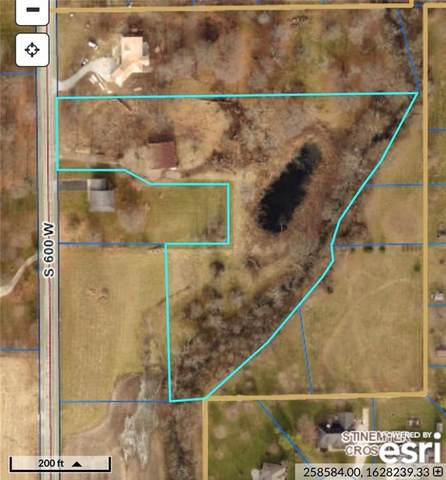 4517 S 600 W, New Palestine, IN 46163 (MLS #21729830) :: The Indy Property Source