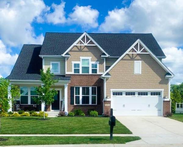 4474 Eagleridge Lane, Zionsville, IN 46077 (MLS #21729851) :: Mike Price Realty Team - RE/MAX Centerstone