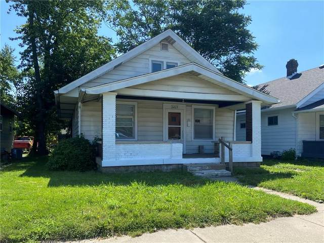 1415 N Belleview Place, Indianapolis, IN 46222 (MLS #21729926) :: AR/haus Group Realty