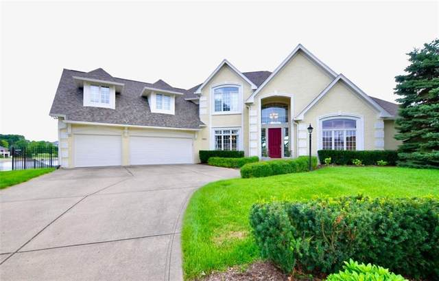 4883 Snowberry Bay Court, Carmel, IN 46033 (MLS #21729964) :: Anthony Robinson & AMR Real Estate Group LLC