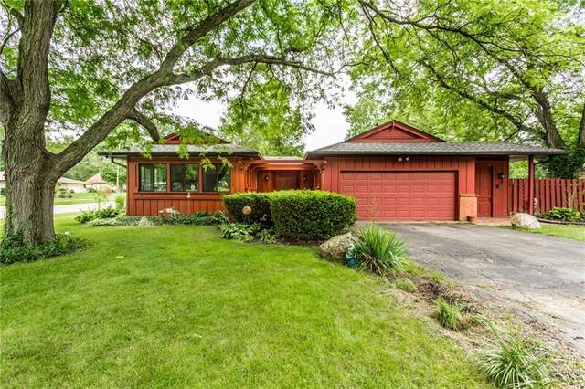 4817 Eastbourne Drive, Indianapolis, IN 46226 (MLS #21729999) :: David Brenton's Team