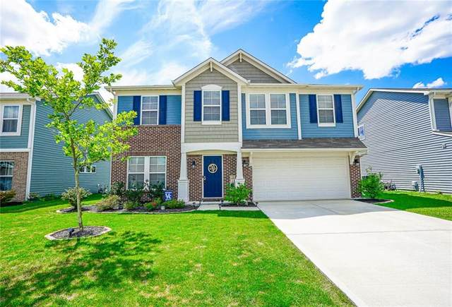 4322 Blue Note Drive, Indianapolis, IN 46239 (MLS #21730028) :: David Brenton's Team
