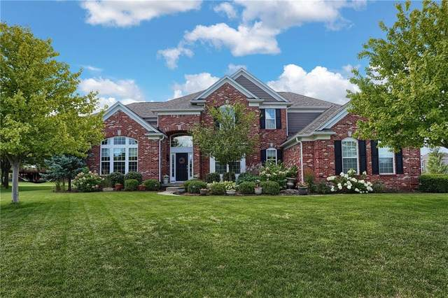 5012 Pebblepointe Pass, Zionsville, IN 46077 (MLS #21730058) :: Your Journey Team