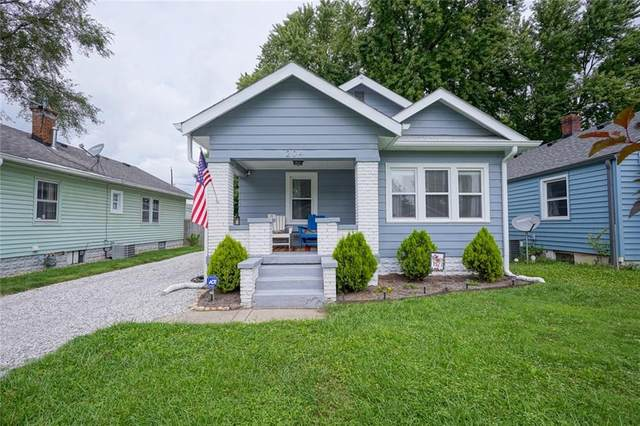 204 E Berwyn Street, Indianapolis, IN 46225 (MLS #21730064) :: Mike Price Realty Team - RE/MAX Centerstone
