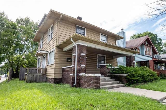 133 N Bosart Avenue, Indianapolis, IN 46201 (MLS #21730067) :: Mike Price Realty Team - RE/MAX Centerstone