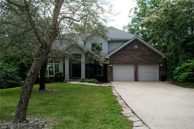 7830 Persimmon Lake Drive, Seymour, IN 47274 (MLS #21730120) :: The ORR Home Selling Team