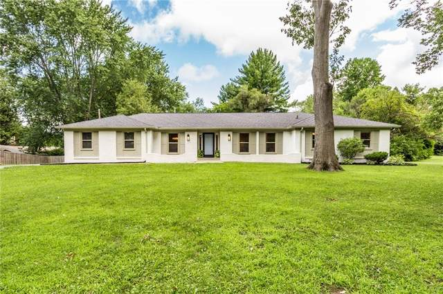 124 Kenwood Circle, Indianapolis, IN 46260 (MLS #21730173) :: Anthony Robinson & AMR Real Estate Group LLC