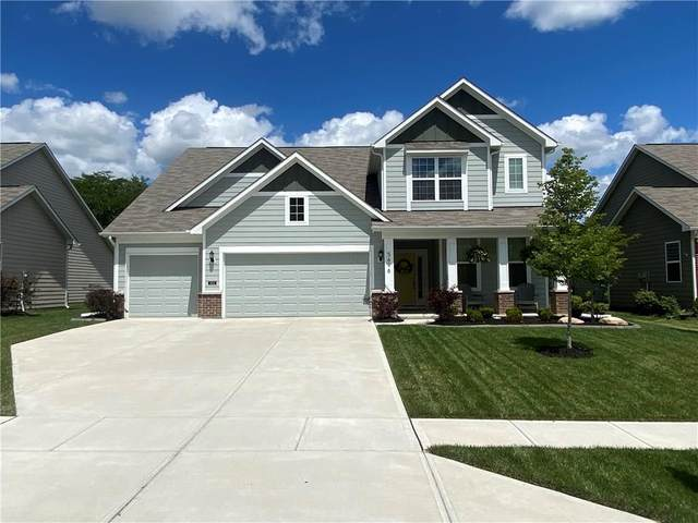 5696 Pennycress Drive, Noblesville, IN 46062 (MLS #21730189) :: David Brenton's Team
