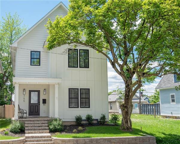 755 Terrace Avenue, Indianapolis, IN 46203 (MLS #21730344) :: Mike Price Realty Team - RE/MAX Centerstone
