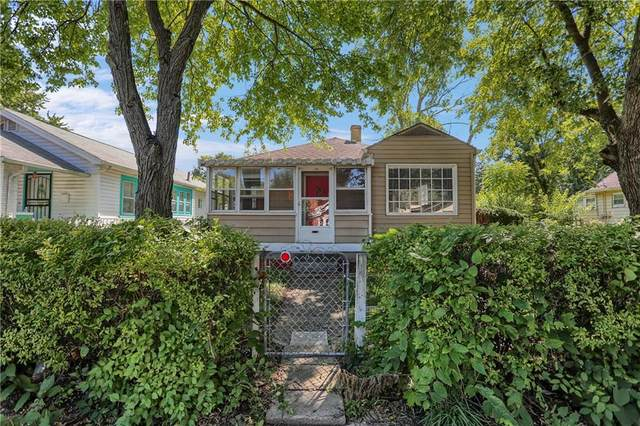 1519 N Grant Avenue, Indianapolis, IN 46201 (MLS #21730399) :: The Evelo Team