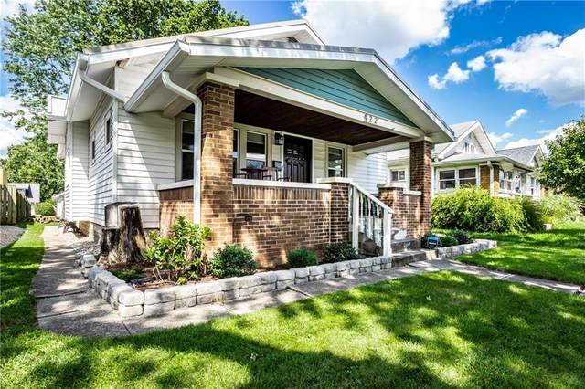 422 Wallace Avenue, Indianapolis, IN 46201 (MLS #21730402) :: Anthony Robinson & AMR Real Estate Group LLC