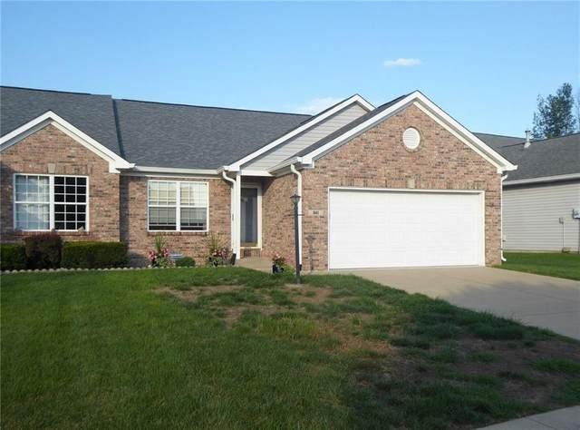 941 Village Circle Drive, Greenwood, IN 46143 (MLS #21730451) :: David Brenton's Team