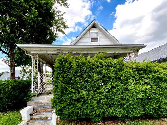2302 Prospect Street, Indianapolis, IN 46203 (MLS #21730464) :: The Evelo Team