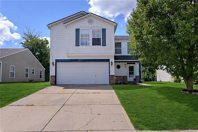 1754 Blackmore Drive, Indianapolis, IN 46231 (MLS #21730535) :: The Evelo Team