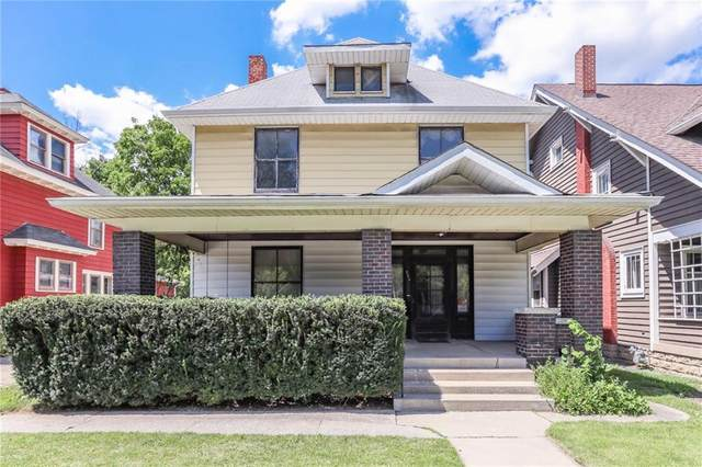 320 N Ritter Avenue, Indianapolis, IN 46219 (MLS #21730635) :: Anthony Robinson & AMR Real Estate Group LLC