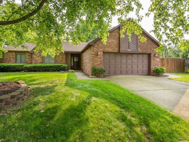 8351 Stacy Lynn Court, Indianapolis, IN 46231 (MLS #21730648) :: The Evelo Team