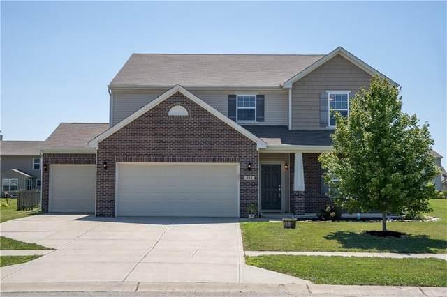 883 Blackberry Drive, Greenwood, IN 46143 (MLS #21730736) :: Dean Wagner Realtors