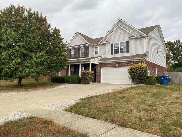 9542 Treyburn Lake Drive, Indianapolis, IN 46239 (MLS #21730795) :: The ORR Home Selling Team