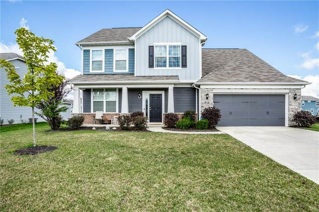 12660 Castle Pine Drive, Noblesville, IN 46060 (MLS #21730908) :: AR/haus Group Realty