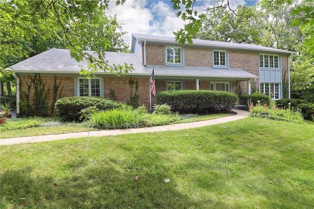 7030 Eastwick Circle, Indianapolis, IN 46256 (MLS #21730937) :: AR/haus Group Realty