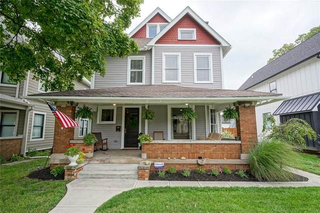 2351 College Avenue N, Indianapolis, IN 46205 (MLS #21731084) :: AR/haus Group Realty