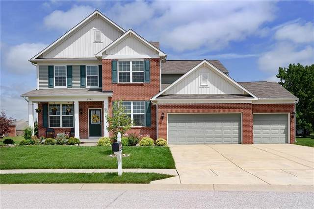 8940 Homewood Drive, Brownsburg, IN 46112 (MLS #21731134) :: David Brenton's Team