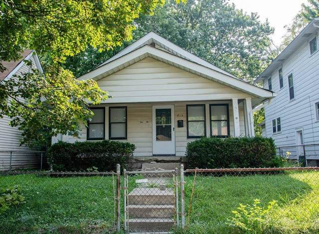 415 N Euclid Avenue, Indianapolis, IN 46201 (MLS #21731164) :: Richwine Elite Group