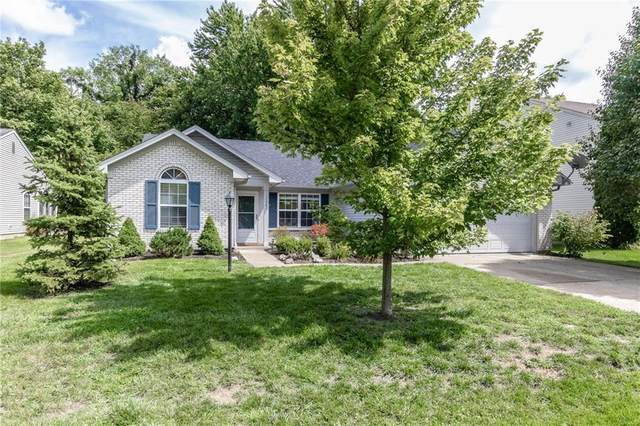12267 Blue Sky Drive, Fishers, IN 46037 (MLS #21731184) :: The Indy Property Source