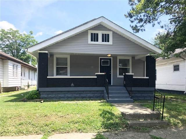 1321 N Ewing Street, Indianapolis, IN 46201 (MLS #21731221) :: Anthony Robinson & AMR Real Estate Group LLC