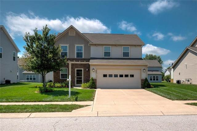 6698 Branches Drive, Brownsburg, IN 46112 (MLS #21731340) :: David Brenton's Team