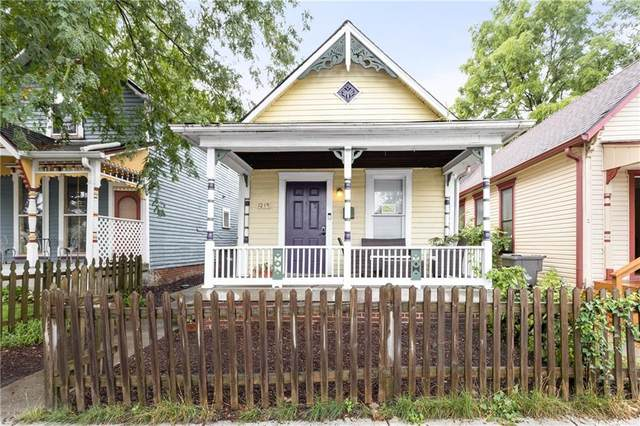 1219 E 10TH Street, Indianapolis, IN 46202 (MLS #21731430) :: Mike Price Realty Team - RE/MAX Centerstone