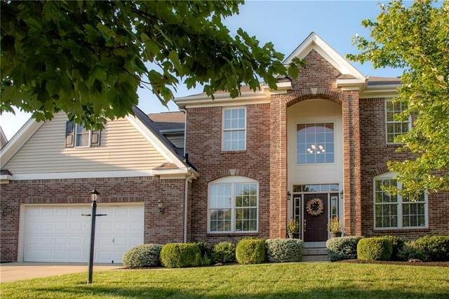 12058 Bodley Place, Fishers, IN 46037 (MLS #21731439) :: The Indy Property Source