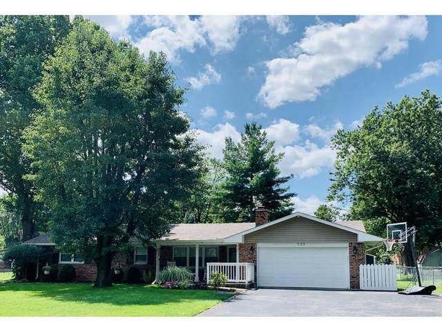 233 Bangor Drive, Indianapolis, IN 46227 (MLS #21731487) :: Anthony Robinson & AMR Real Estate Group LLC