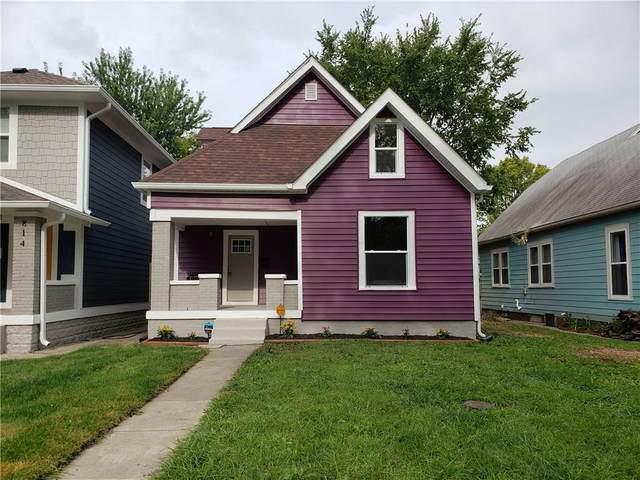 816 N Temple Avenue, Indianapolis, IN 46201 (MLS #21731528) :: The Indy Property Source