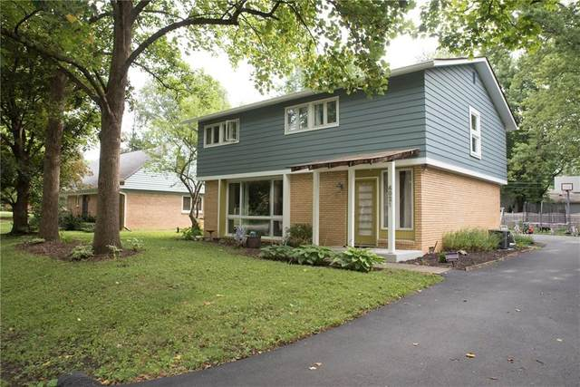 4921 Victoria Road, Indianapolis, IN 46228 (MLS #21731535) :: The Indy Property Source