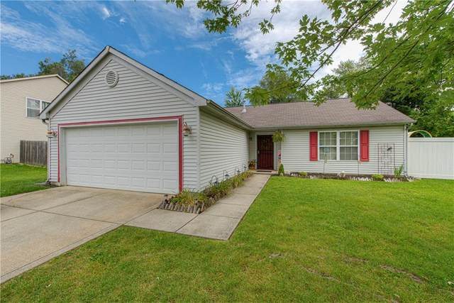 3928 Zeenat Drive, Indianapolis, IN 46254 (MLS #21731548) :: Anthony Robinson & AMR Real Estate Group LLC