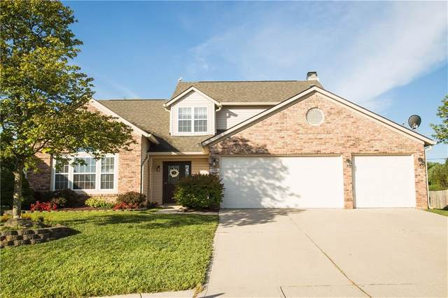 4969 Pearcrest Circle, Greenwood, IN 46143 (MLS #21731557) :: Mike Price Realty Team - RE/MAX Centerstone